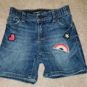 Gap jean shorts size 5 trendy